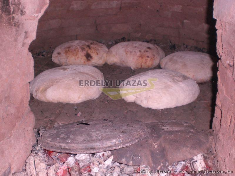 Házikenyér sütés