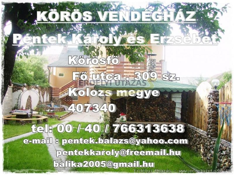 ,,Körös˝  Pension  *** (34)