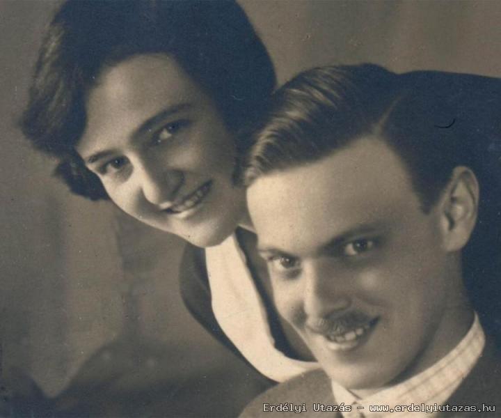 Br. Kemény János és Auguszta